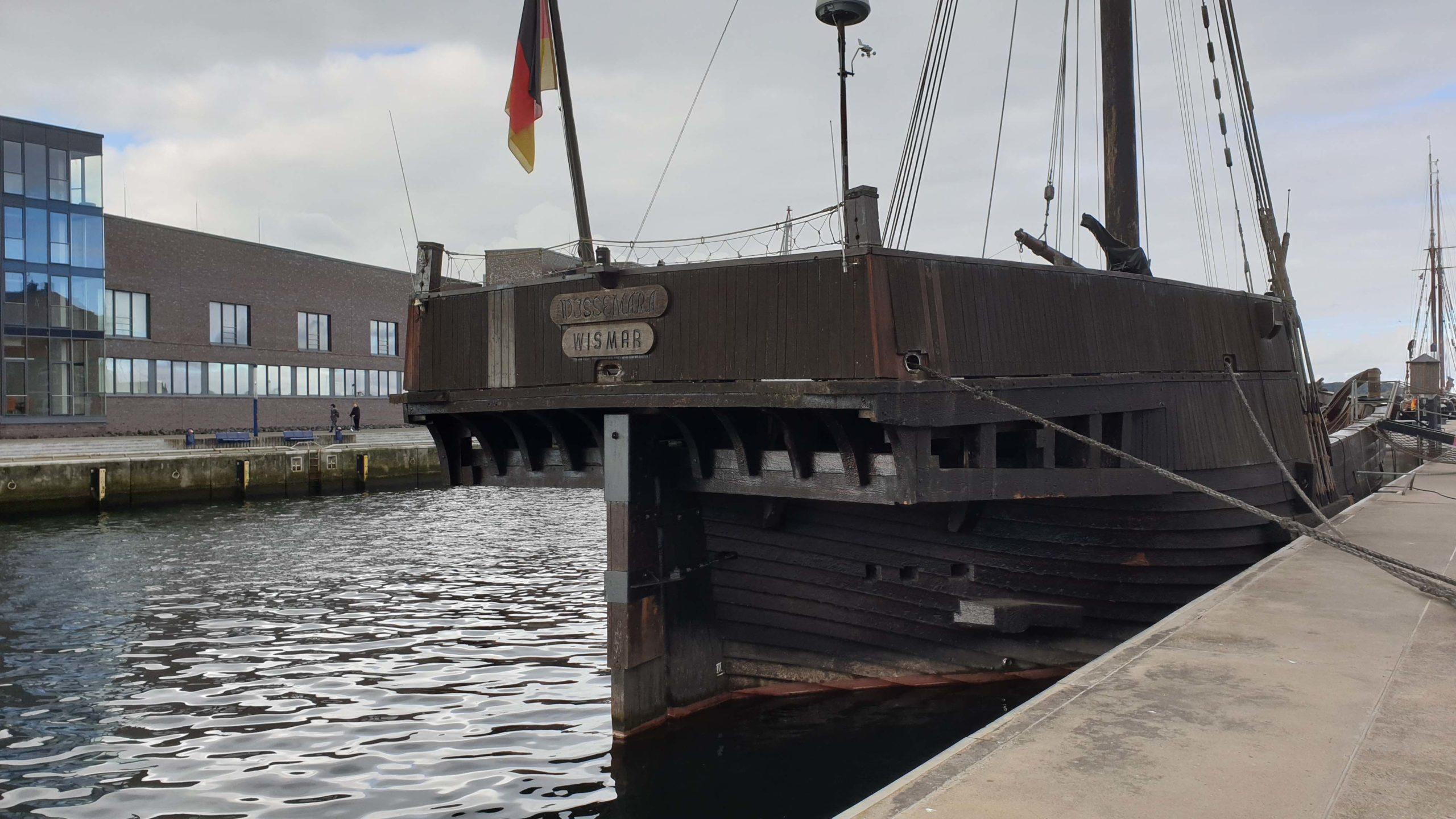 Wismar Ship in Wismar, Germany