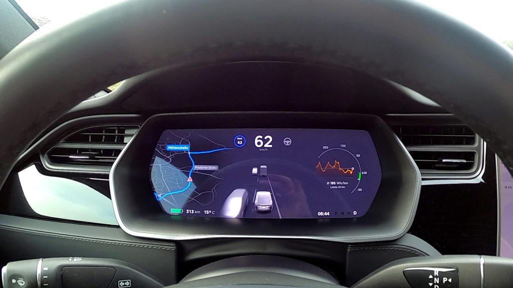 Tesla Model S Traffic-Aware Cruise Control